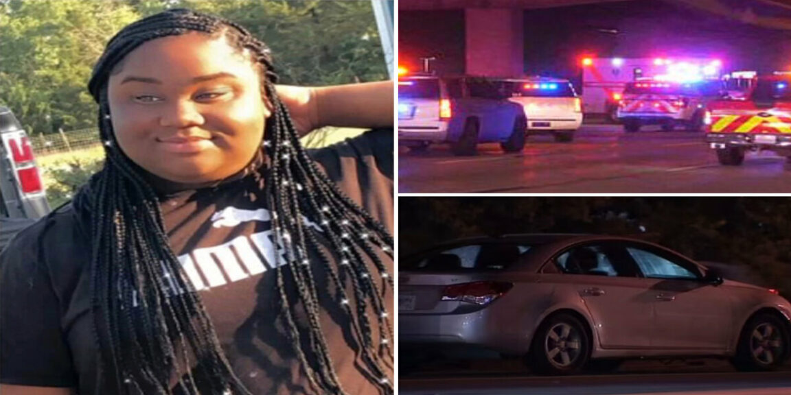 A 15-year-old girl jumps out of a moving car after arguing with her mother, and is immediately hit by another vehicle