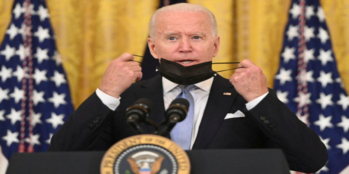 Joe Biden caught up with his comments on the Taliban