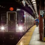 Man in wheelchair falls onto New York subway train tracks