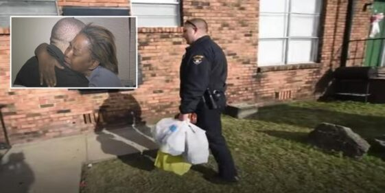 Hungry mother stole 5 eggs to feed her family, cop brings her two truckloads of food instead of arresting her