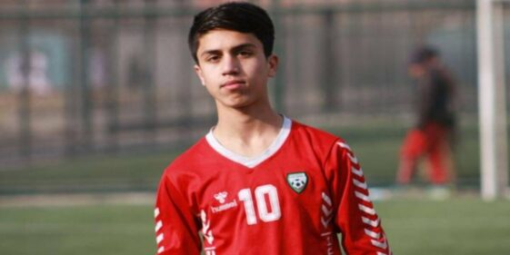 Teenager who died after falling from U.S. plane identified as Afghan national soccer player