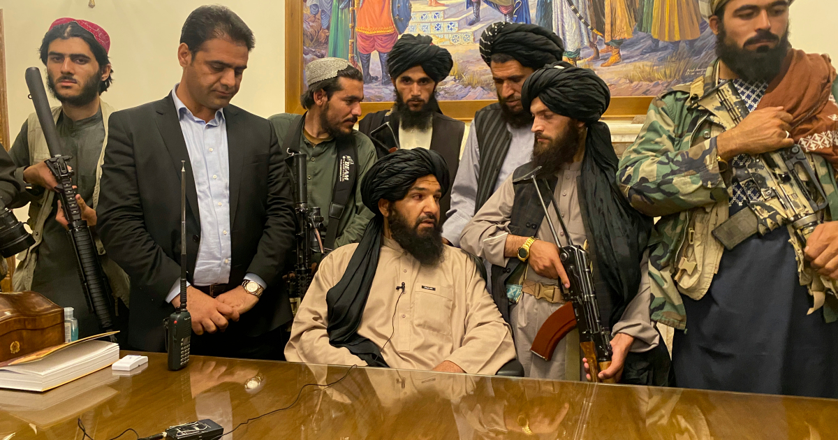 Taliban violently disperse protest as Afghan president reappears in UAE