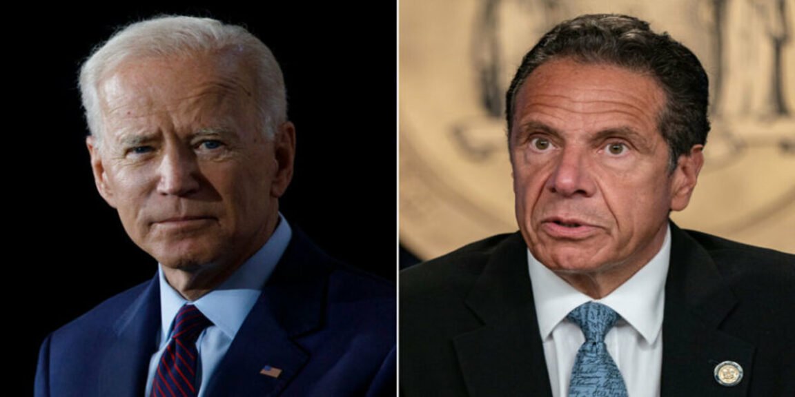 Biden calls on Cuomo to resign after sexual harassment allegations