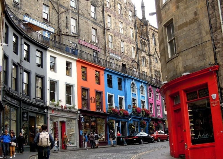 Places in Edinburgh that inspired J.K. Rowling to write