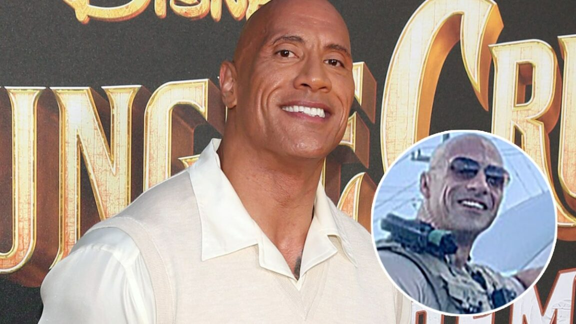 Dwayne Johnson reacts to a viral resemblance to a cop