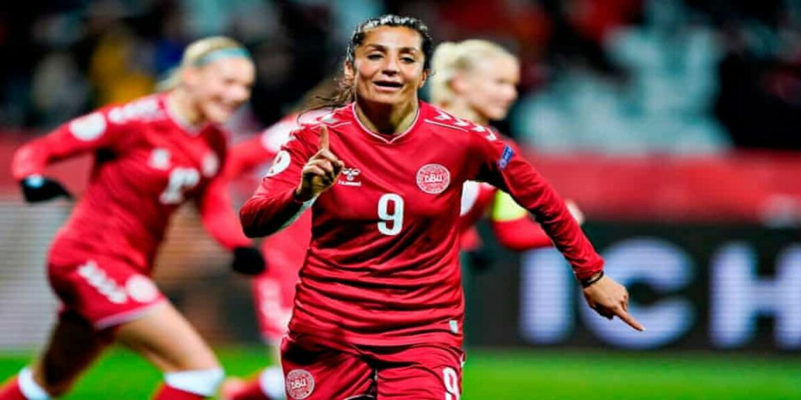 Nadia Nadim, the soccer player who fled from the Taliban regime