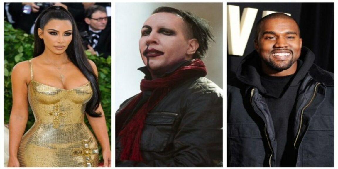 Kim Kardashian 'didn't know' Marilyn Manson would be at Kanye West's Donda Event