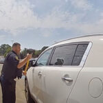 Ohio police save baby from hot car after his mother locked herself in it