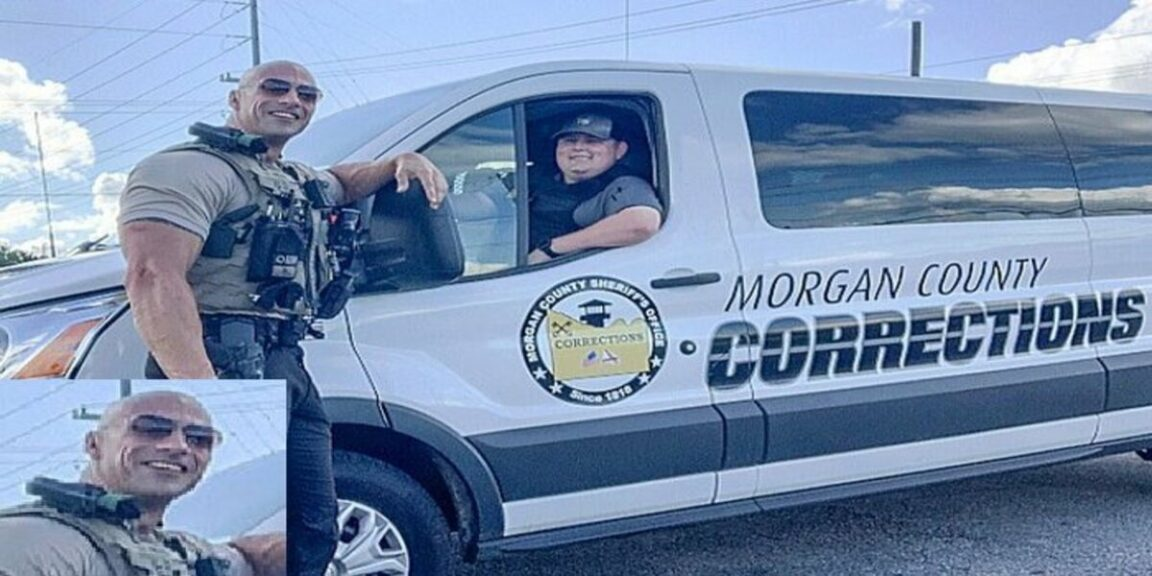 U.S. cop routinely mistaken for The Rock