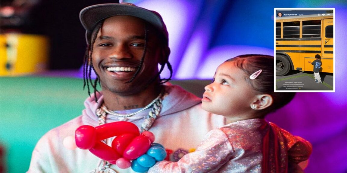 Travis Scott gifts Stormi with his dream of being 'middle class'