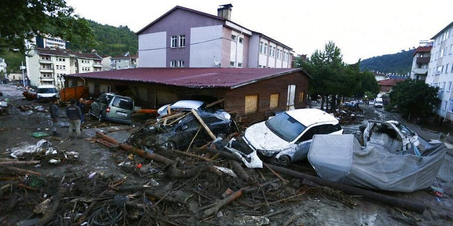 At least 27 people dead after floods hit Turkey days after severe forest fires