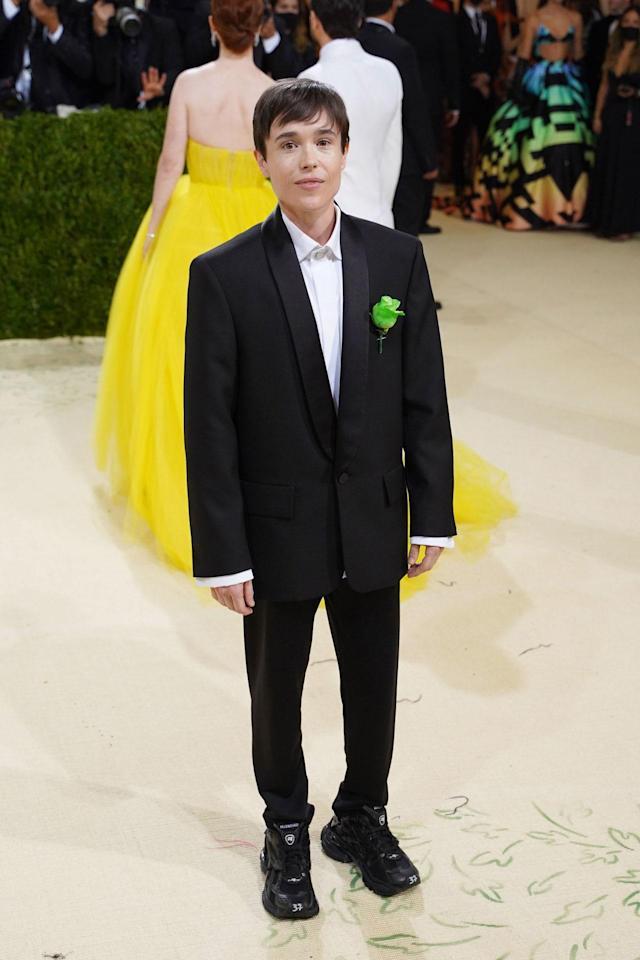 The queer sense of Elliot Page's look at the Met Gala: homage to Oscar Wilde