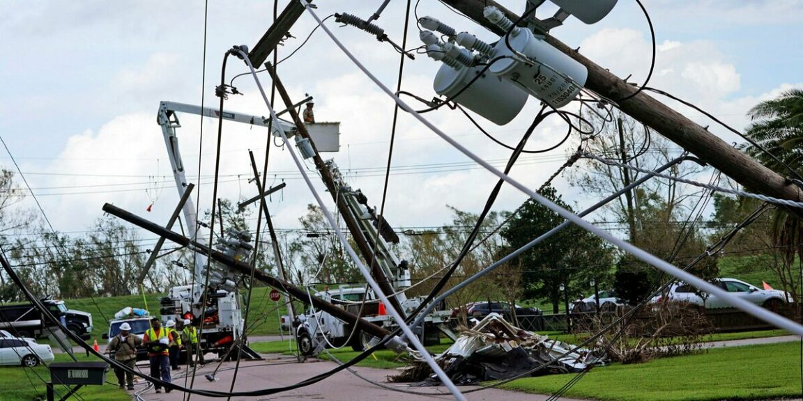 Louisiana power outages could last for weeks
