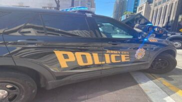 Jersey City police catch month-old baby thrown off second-story balcony by enraged man