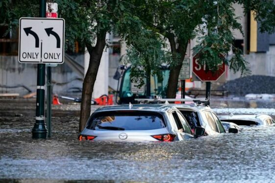 New York under water in the aftermath of Hurricane Ida