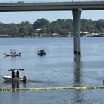 Mother accused of throwing own children off Louisiana bridge, killing one of them