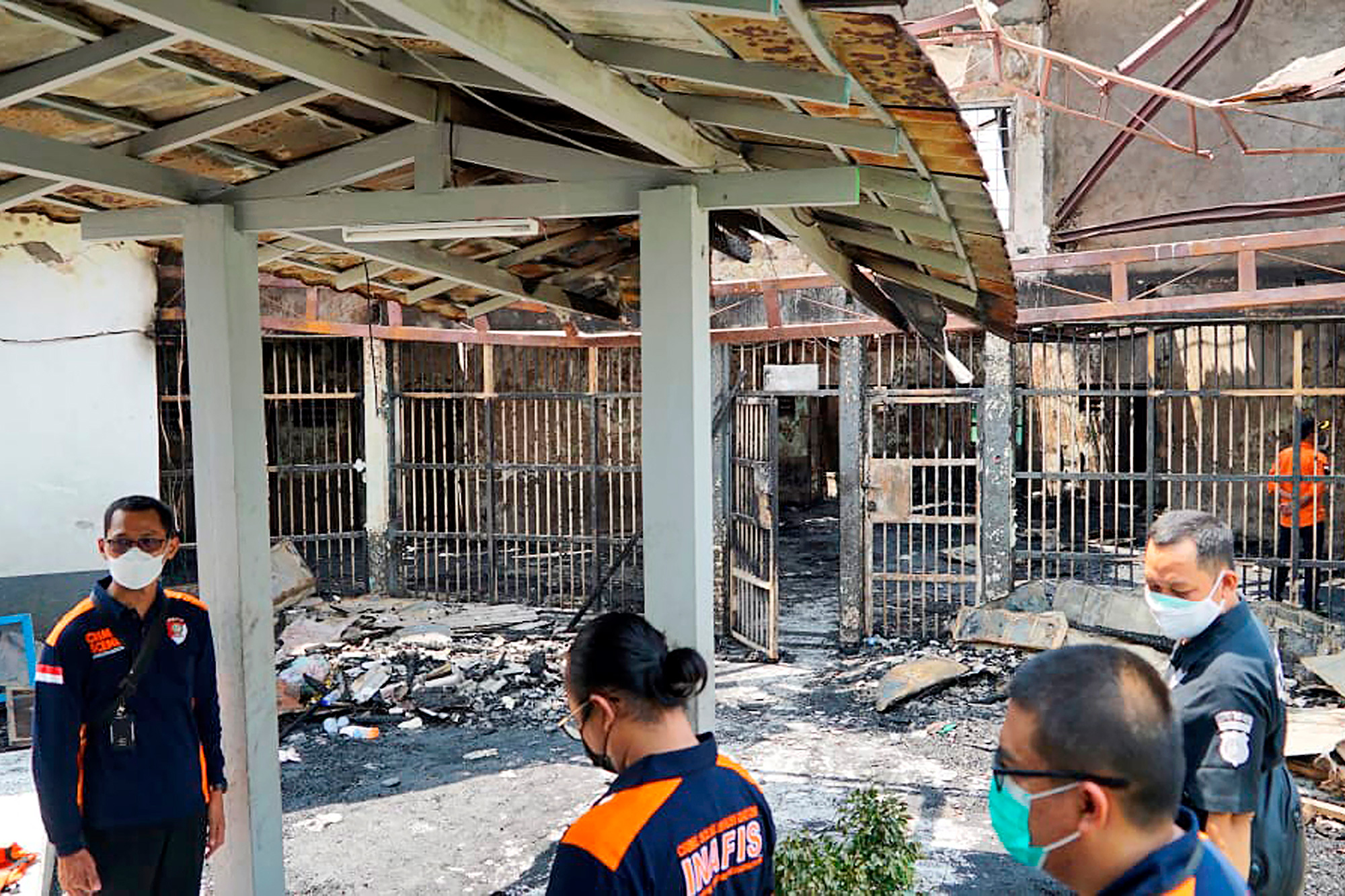 Fire in overcrowded Indonesian prison kills 41 people