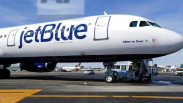 Woman 'removed from JetBlue flight in handcuffs' after 'refusing to wear mask'