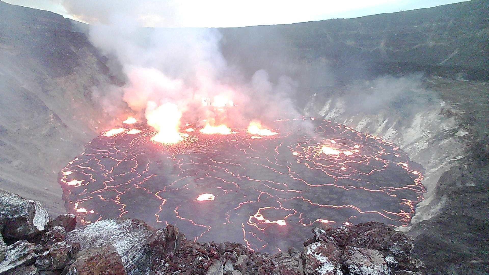 Hawaii's Kilauea volcano has erupted again