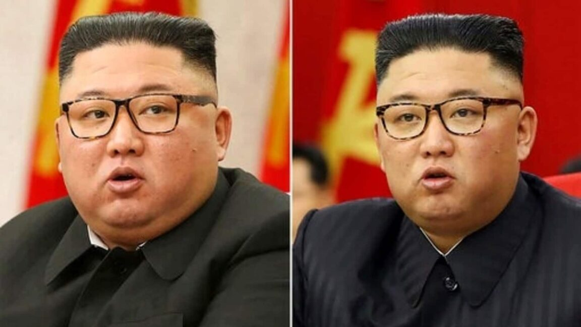Supreme Leader Kim Jong-Un looks thinner than ever as he appeared in another propaganda broadcast