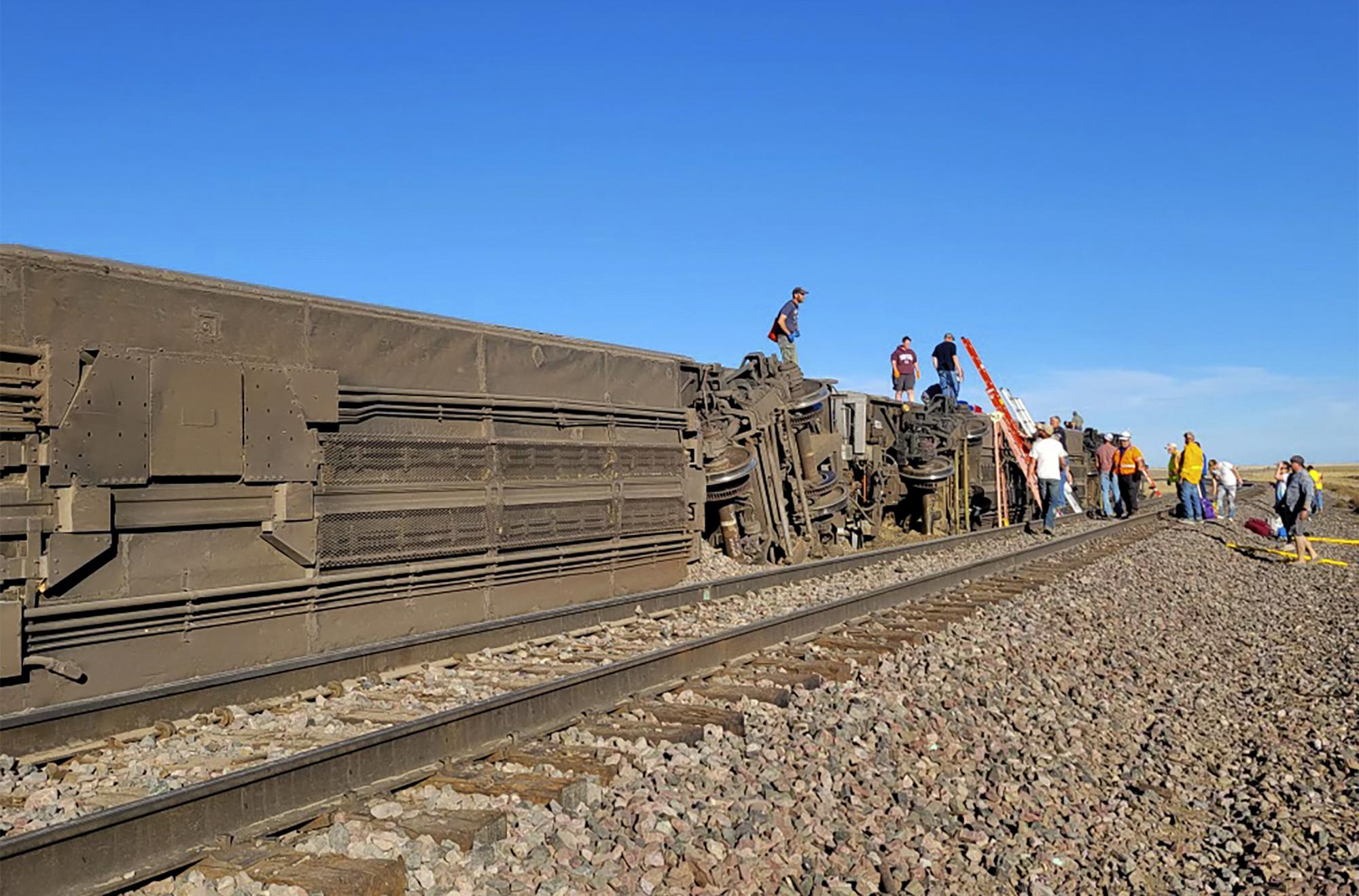At least 3 dead, dozens injured after Amtrak train derails in Montana