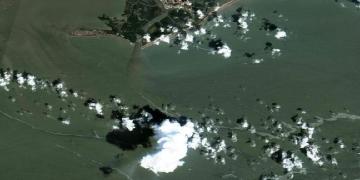 Oil contamination after Hurricane Ida in the Gulf of Mexico