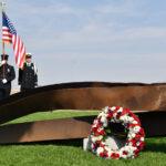 "Defense Secretary Lloyd Austin remembers ""fallen comrades"" 20 years after the Sept. 11 Pentagon attack"