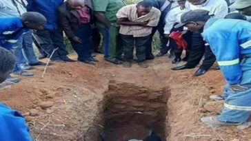 Pastor dies after burying himself alive while trying to 'emulate Jesus' and resurrect on the third day