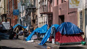 San Francisco homeless man dies after being set on fire inside sleeping bag