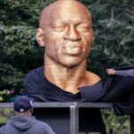 George Floyd statue vandalized days after unveiling