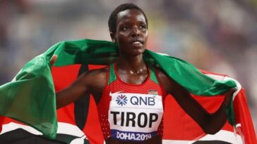 Kenyan Olympic star Agnes Jebet Tirop was found stabbed to death in her home