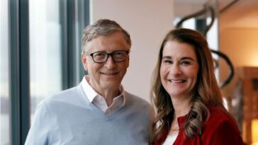 Bill and Melinda Gates seen together for the first time since their divorce