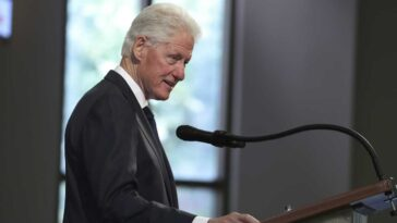 Former U.S. President Bill Clinton is rushed to the hospital for an infection