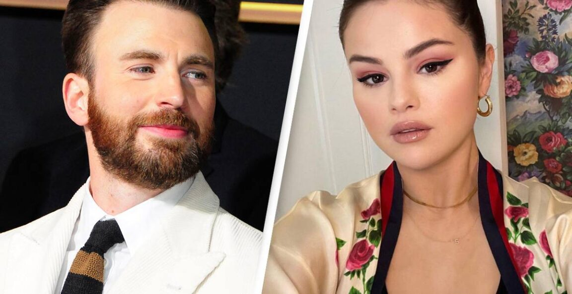 Chris Evans and Selena Gomez spotted leaving the same place twice