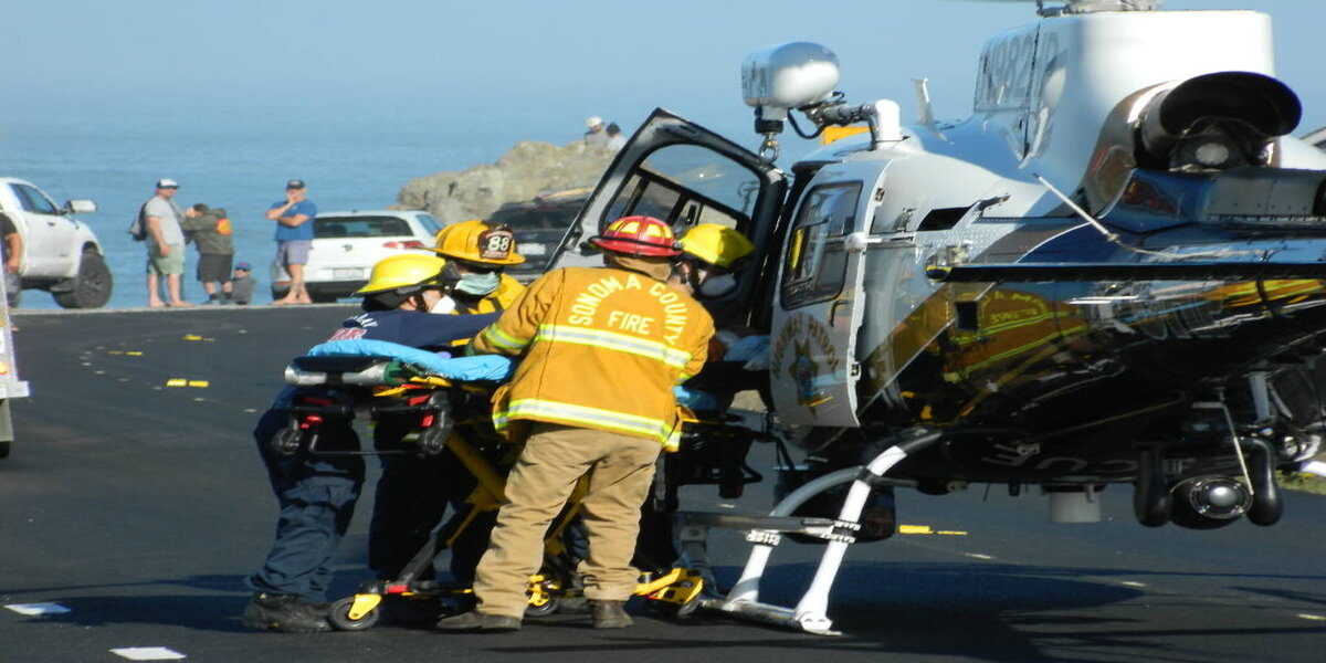 A man is airlifted for serious injuries after a shark attack off the coast of Sonoma