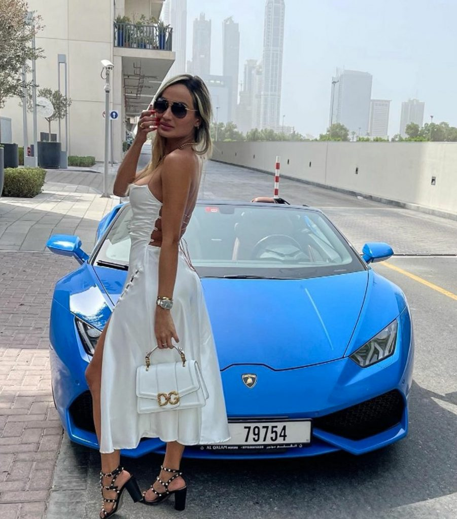 Instagram influencer is charged after trying to board plane to Dubai with cocaine