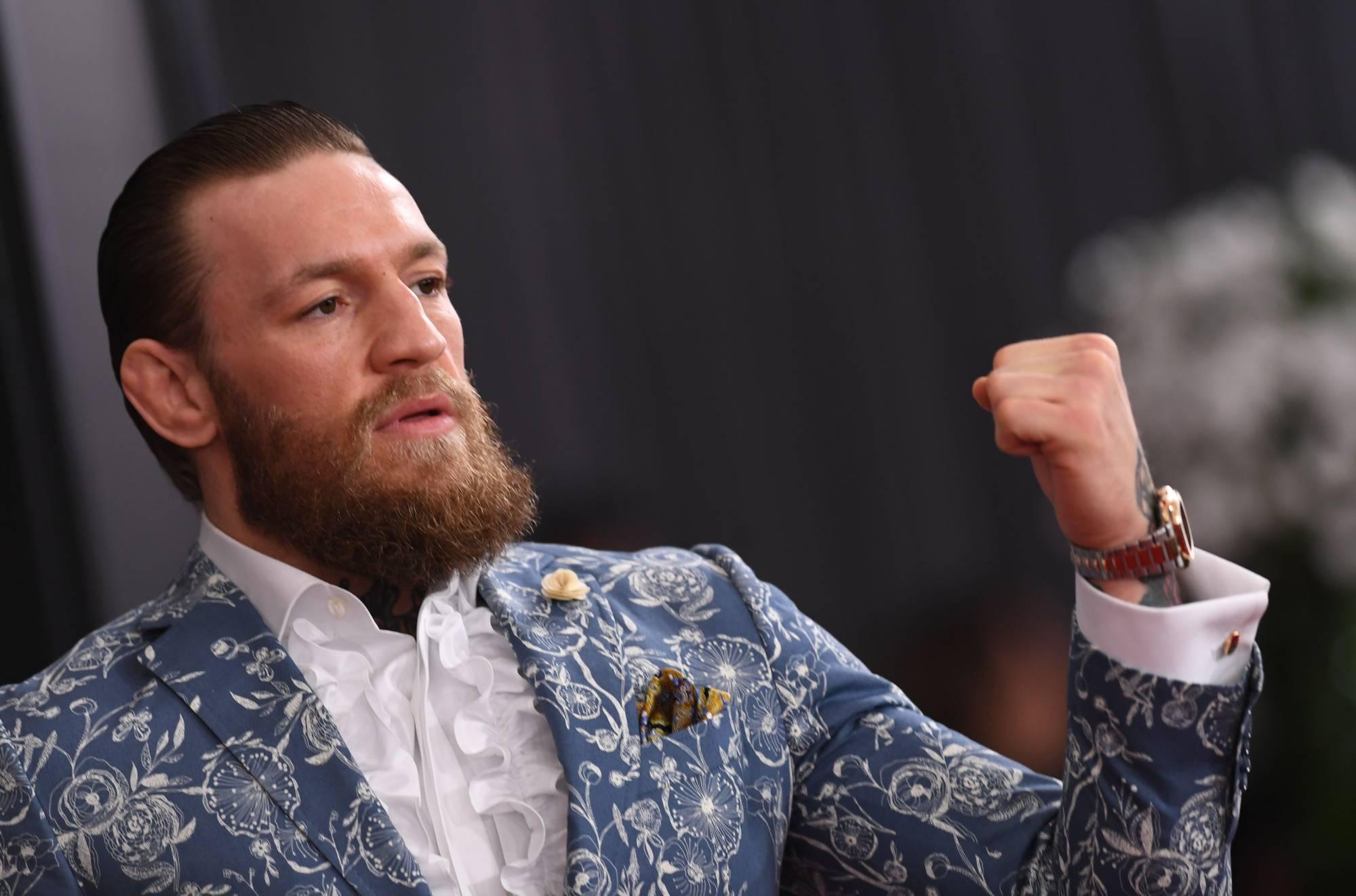 Conor McGregor accused of breaking DJ's nose in Rome