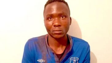 A Kenyan man who was dubbed a vampire after confessing to murdering ten children and sucking the blood of at least one has escaped from jail